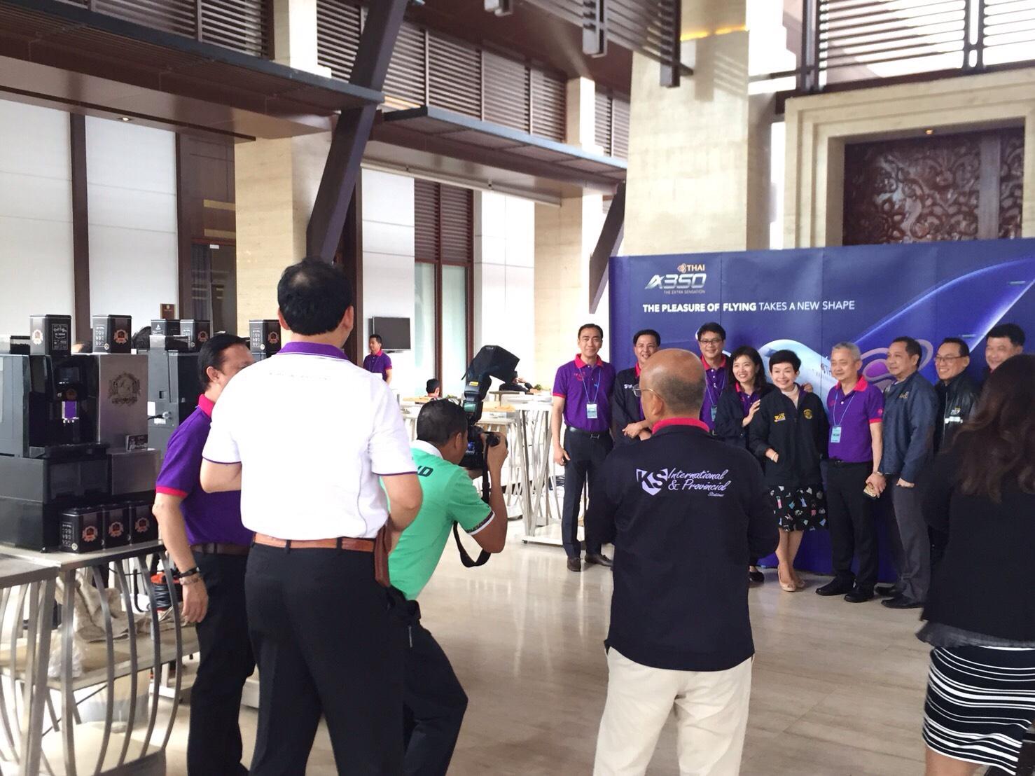 VP Thai Airways Meeting